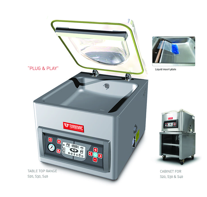 Turbovac Bench Top Features